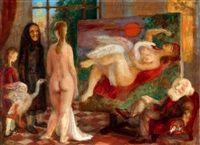 vladimir-szabó-painter-in-the-studio-(leda-with-the-swan).jpg (200×145)