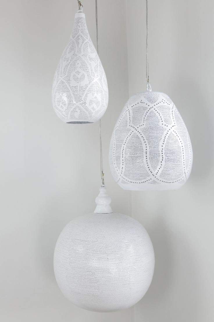 Witte lampen Zenza   Verlichting - lampen en kandelaars ...