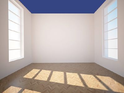 conseil_espace6Au plafond, comme sur les retombées deplafond pour des espaces jugés trop hauts