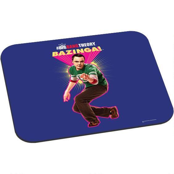 The Big Bang Theory Sheldon Bazinga Mouse Pad from Warner Bros.: Bazinga! This Big Bang Theory mouse pad features… #Movies #Films #DVD Video
