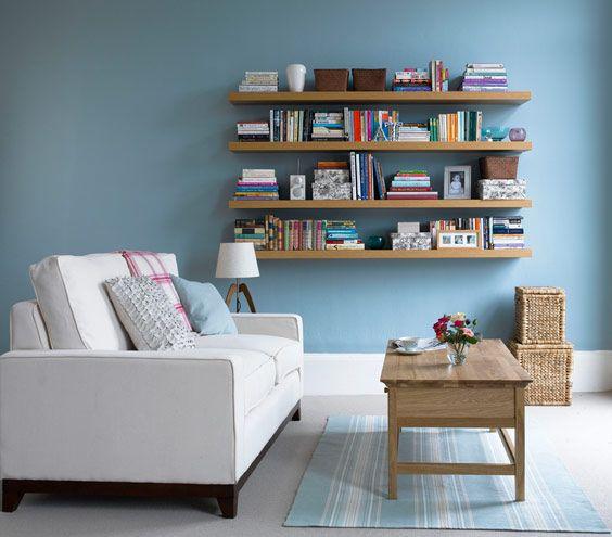 Living room design idea - Home and Garden Design Ideas wall color
