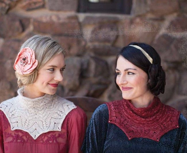 Snowdrop and Rose Red Cowl Knitting Pattern - Patterns - Knitting