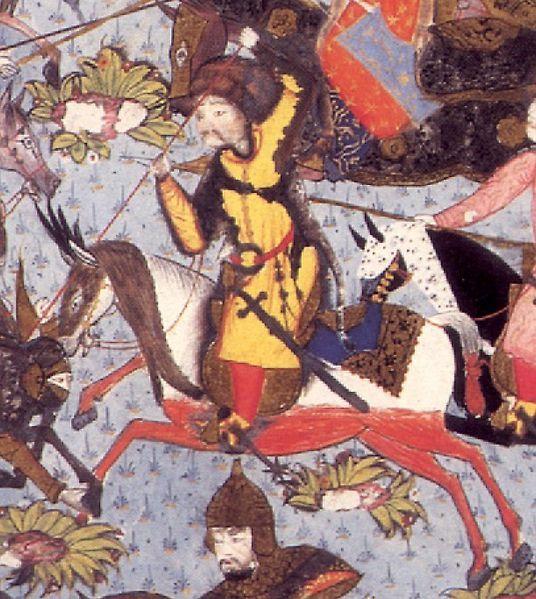Matrakçı Nasuh-Akıncı (Ottoman Soldier)-The Battle of Mohács,1526-Süleymanname