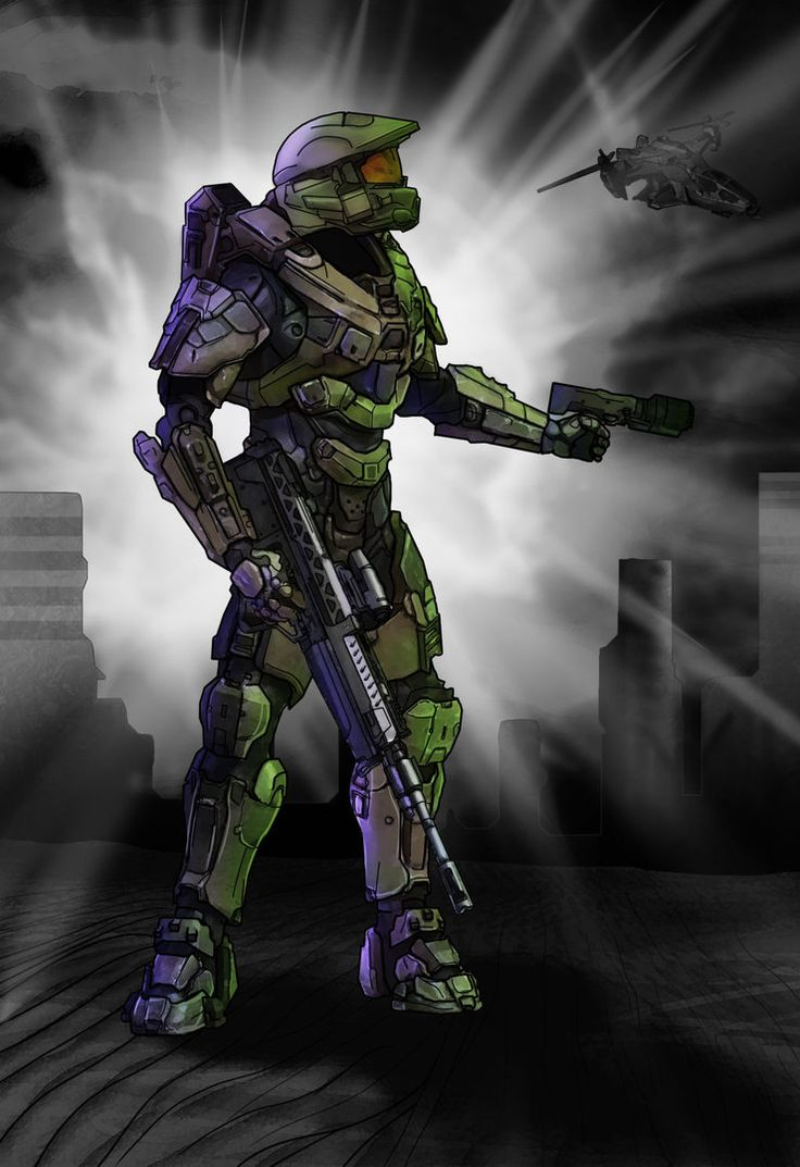 Halo 4 Master Chief Color Study By LordKaniche On DeviantART HALO Halo Halo Game Master Chief