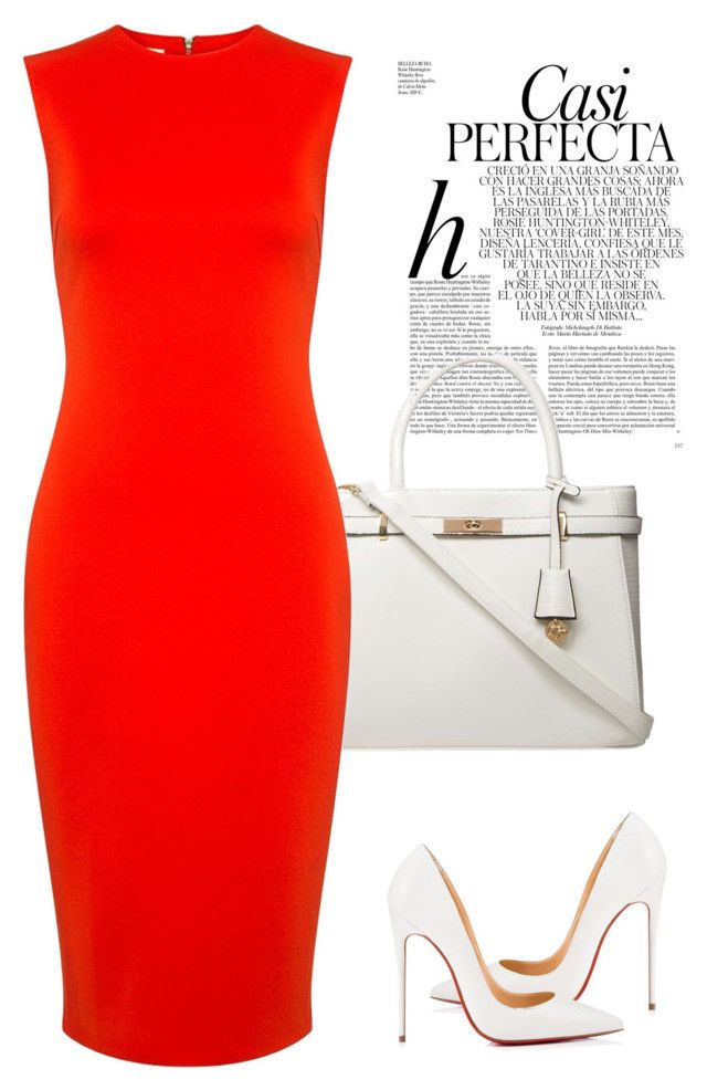 Untitled #584 by sanchez-drummond on Polyvore featuring polyvore fashion style McQ by Alexander McQueen Christian Louboutin Dorothy Perkins Whiteley clothing