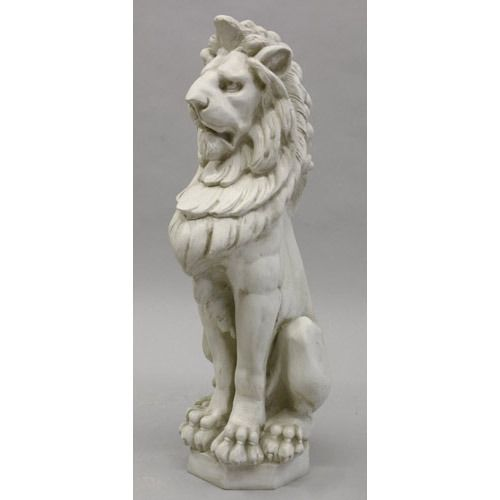 Large Outdoor Lion Statue