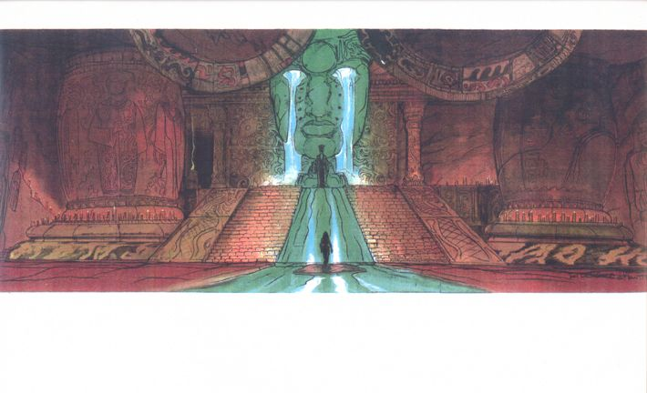 atlantis disney throne - Google Search