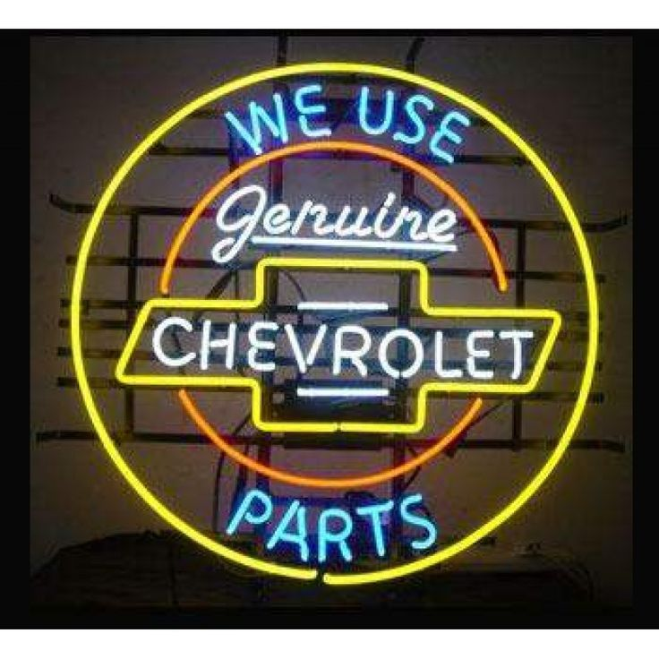 Find best Genuine Chevrolet Part Neon Sign for sale, Affordable Genuine Chevrolet Part Neon Sign, 2 years of quality warranty, 100% undamage guaranteed.