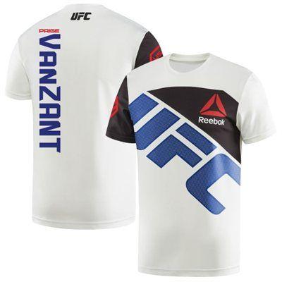 Men's Reebok Paige VanZant Chalk/Blue UFC Jersey