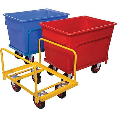Steel Chassis Plastic Container Trucks