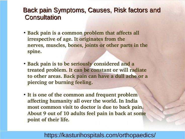 Back pain Treatment Hyderabad by Sushant  M.V via slideshare