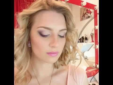 Романтический весенний макияж - YouTube