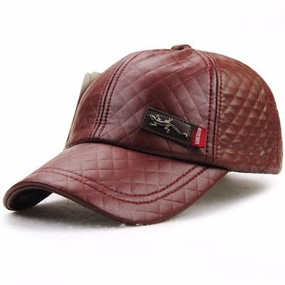 This Is a Great Fathers Day Gift, Order Now To Receive Gift In Time For Fathers Day !! New Fashion High Quality Faux Leather Cap Casual  Baseball Cap