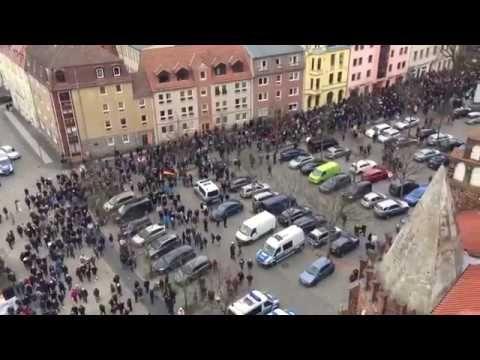 Немцы вышли на митинг против мигрантов. Germans went to protest against ...