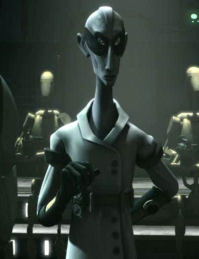 Star Wars: Dr. Nuvo Vindi the mad scientist.
