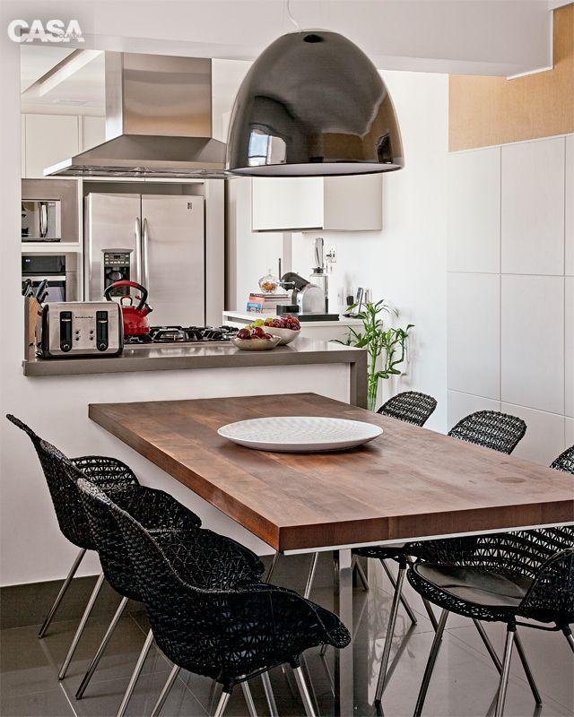 Tr s cozinhas encantadoras que celebram o prazer de comer for Mesa de comer