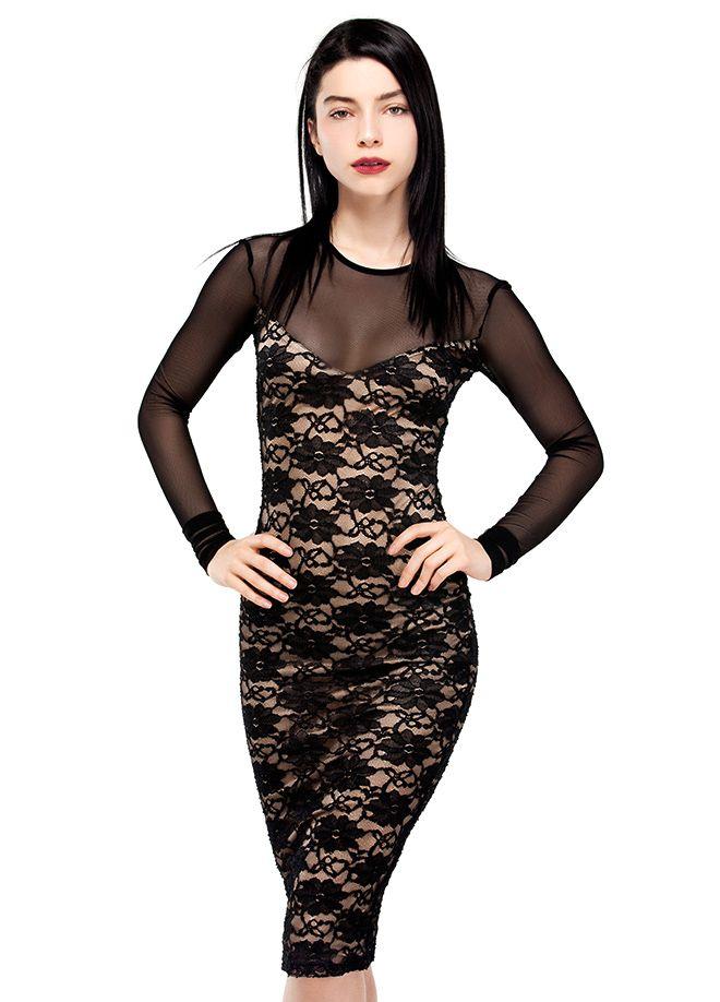 codentry & Merve BOLUĞUR Elbise Markafoni'de 199,90 TL yerine 99,99 TL! Satın almak için: http://www.markafoni.com/product/5073885/ #moda #mervebolugur #gothic #stil #siyah #trend #look #markafoni #fashion #celebrity #stylish #style #photoshoot