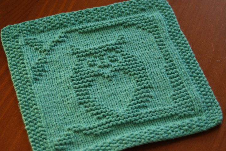 Ravelry: Owl Always Love You Dishcloth by Kelly Daniels