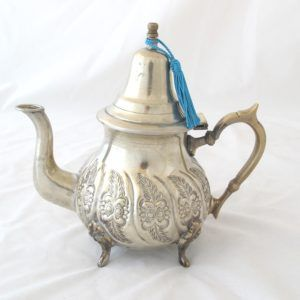Image result for moroccan silver teapot