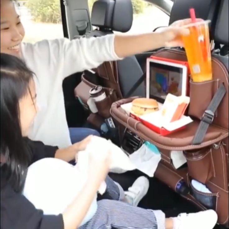 Leather Car Seat Organizer 😍
