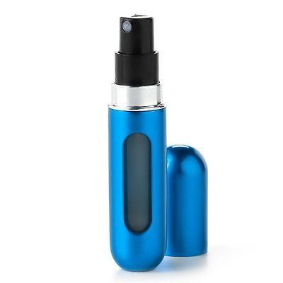 Travalo Refillable Travel Perfume Spray Bottle, Blue