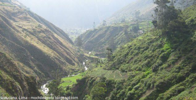 Vive el Turismo de aventura en el distrito limeño de Matucana.  Enormes paisajes naturales y una variedad de sitios arqueológicos lo puede encontrar en Matucana, en la provincia de Huarochirí, a sólo una hora y media al este de Lima, el lugar ideal para quienes les gusta acampar.