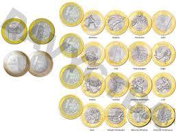 Resultado de imagem para moedas diferentes de 1 real