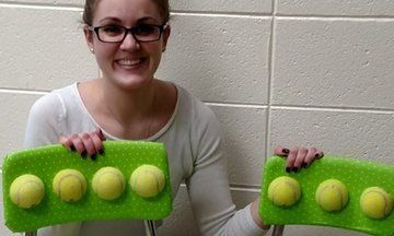 How These Tennis Ball Chairs Are Helping Kids With Sensory Issues | The Huffington Post