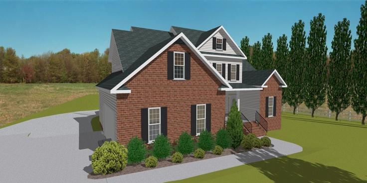 House 3D Model created by TurboFloorPlan 3D Forum user Gerald using TurboFloorPlan 3D home and landscape design software.