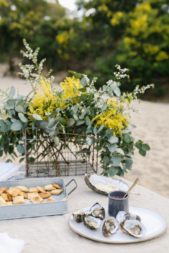 // lean + meadow sunday oyster roast
