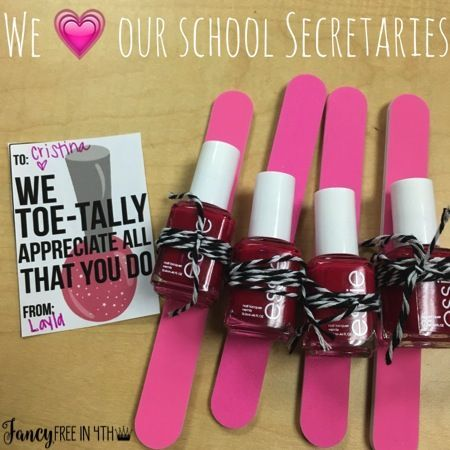 The perfect gift for Teacher Appreciation, Secretaries Day or anything in between.Looking for a great gift for anybody? This combines nails, the Target Dollar Spot and a free printable to go with!