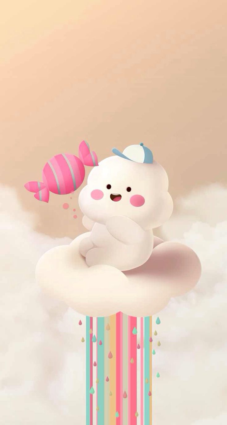 608 best images about wallpaper on pinterest iphone 5 - Kawaii phone backgrounds ...