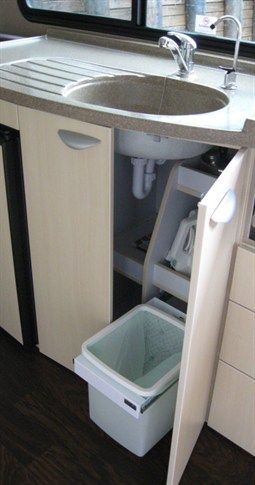 When you're on holiday in your motorhome or caravan, the last thing you want to look at is rubbish! That's Hideaway Bins have developed discreet but highly practical ranges which take care of your kitchen waste and recycling needs. Ideal for those who love the motor-homing and caravanning lifestyle.