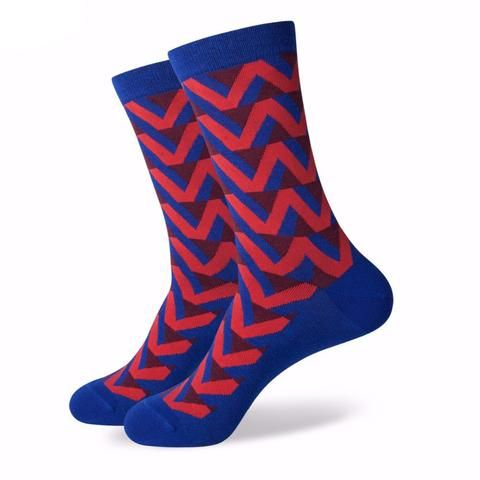 Funky Design and Navy Anchor Socks (8 options)