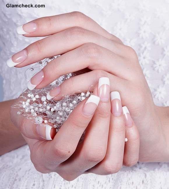 Wedding Nail Art Ideas - French Manicure