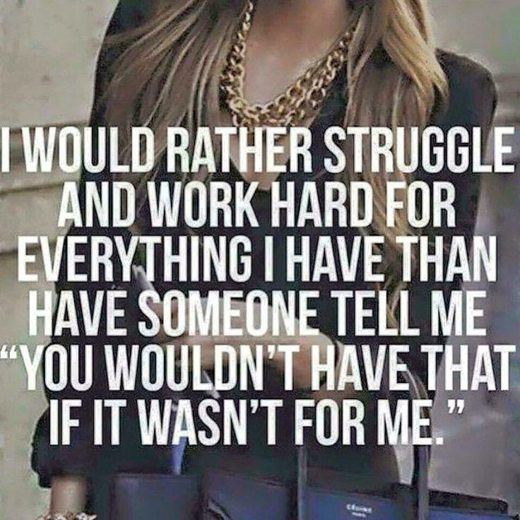 Struggle And Work Hard
