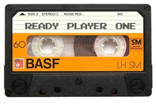 Ernest Cline's Mixtape for his novel, Ready Player One.  He put it up on grooveshark, spotify, youtube - how awesome is the internet?