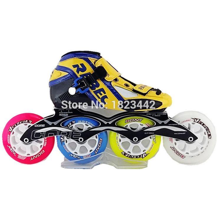 Schankel REBEC катания на роликовых коньках обувь для взрослых беговые коньки желтый цвет катание обувь пс 85A катание колеса