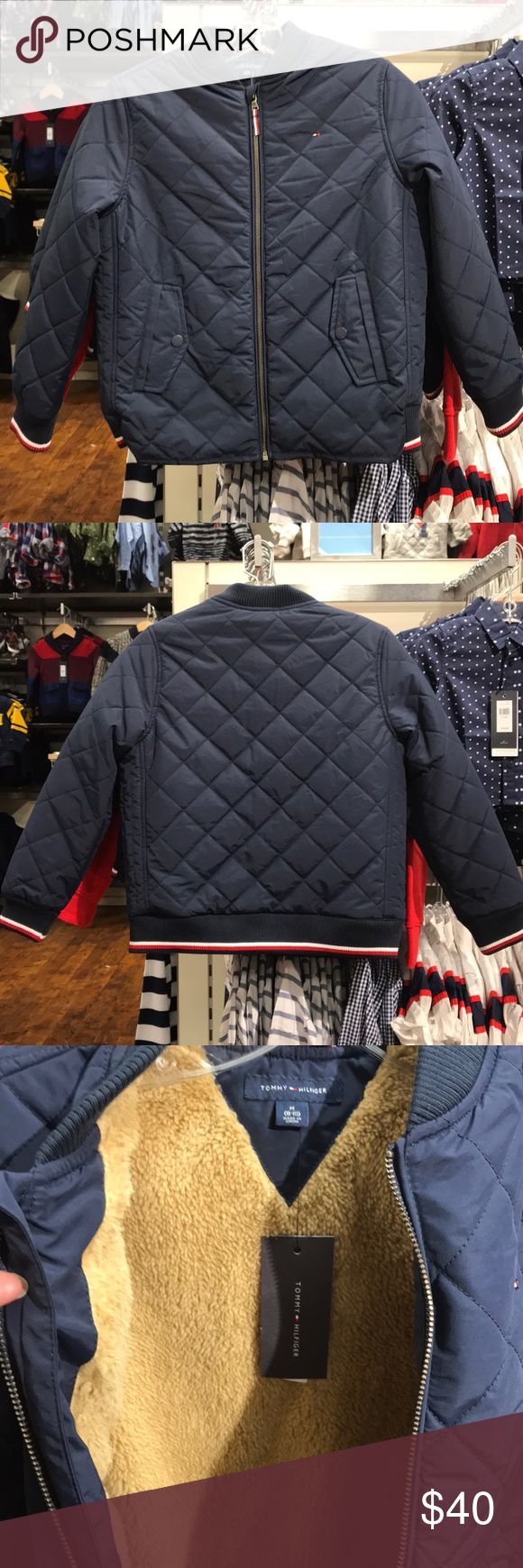 Tommy Hilfiger Kids Jacket M (8-10) Tommy Hilfiger Kids Jacket M (8-10) New with tag Tommy Hilfiger Jackets & Coats