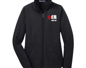 Women's Emergency Department Jacket RN Navy by ArnoldPrints