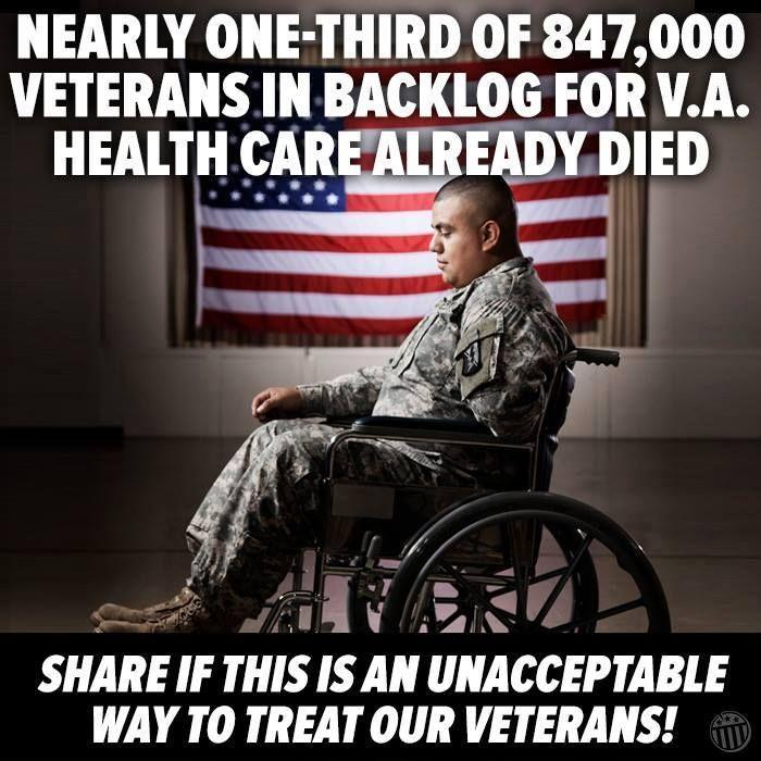 Beyond un acceptable!  A National disgrace!