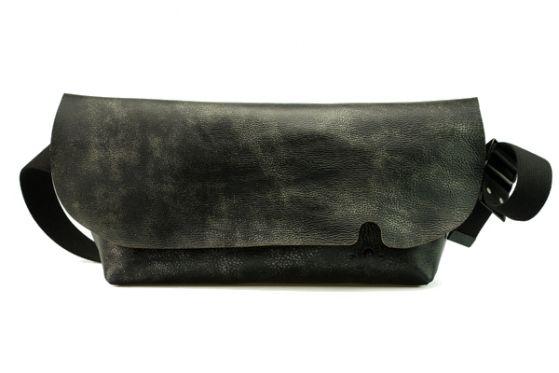 MESSENGER BAG (M)/VINTAGE BLACK