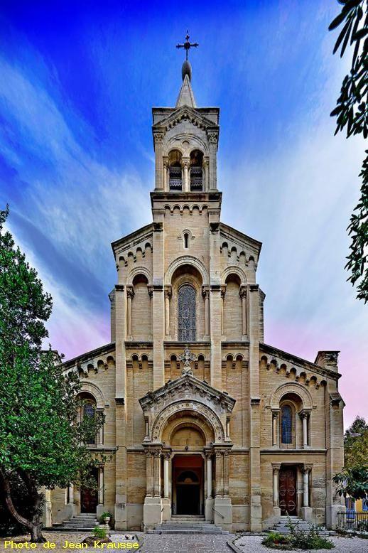 l'église St Flavien . Toulon Provence-Alpes-Côte d'Azur.