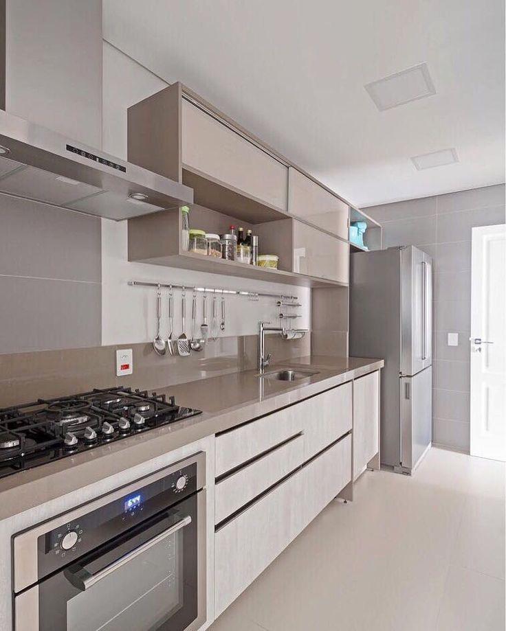 352 best Küchen images on Pinterest Contemporary unit kitchens - wandpaneele küche glas