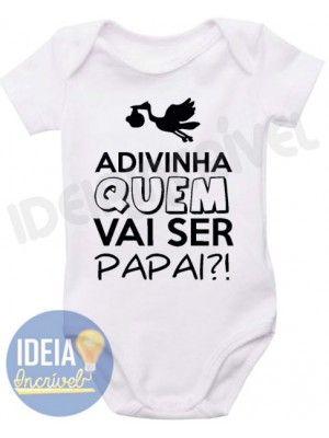 Body Infantil - Adivinha Quem Vai Ser Papai?