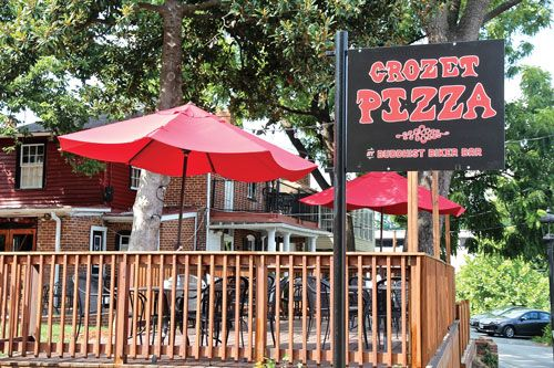 Great drinks, great food, great company - all from our Elliewood neighbor, Crozet Pizza!