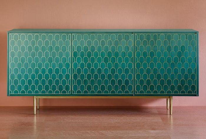Une deco vert emeraude : Enfilade, collection Shamsian Nizwa (Bethan Gray)