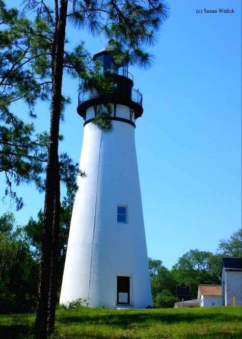 Amelia Island Lighthouse  Fernandina Beach, Florida - 1838