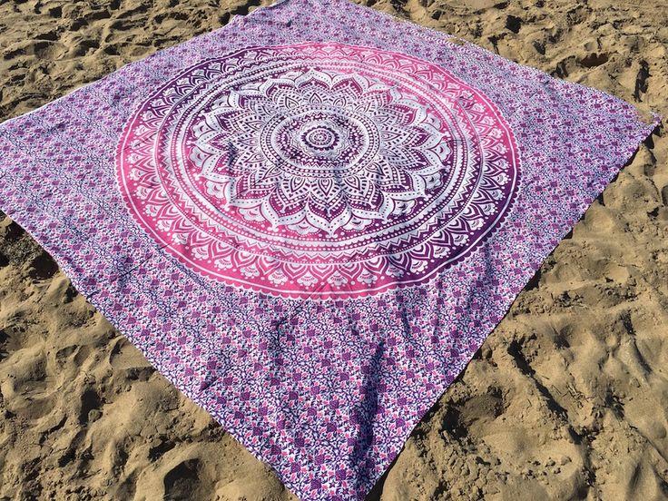 ☾❂☽ Queen Pink Ombre Life Mandala ☾❂☽ www.thirteenblessings.bigcartel.com