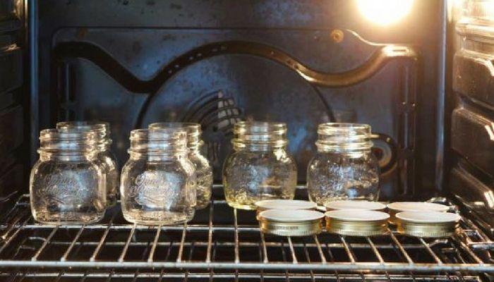 Sterilizzare vasetti in forno o lavastoviglie